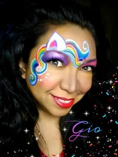 Gio Guzman genius pony design. Paradise split cake in any color pad would make this a one stroke 3 min design!