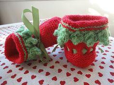 Botitas de bebé, tricot