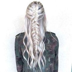 Amazing khaleesi game of thrones hairstyle ideas 46
