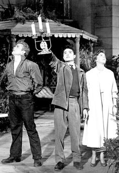 James Dean, Sal Mineo & Natalie Wood ~ Rebel Without A Cause, 1955