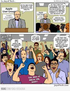 Microsoft vs Apple!