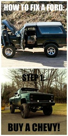 all jacked up trucks
