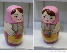 wooden nesting dolls_ Matriochkas
