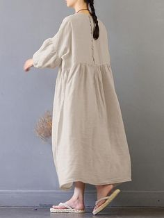 Newchic - Fashion Chic Clothes Online, Discover The Latest Fashion Trends Mobile Cheap Dresses, Casual Dresses For Women, Dresses Dresses, Wedding Dresses, Women's Fashion Dresses, Hijab Fashion, Vestidos Vintage, Mode Hijab, Linen Dresses