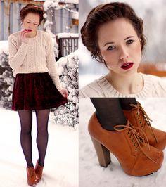 Fashionate: Qué vestidos usar en invierno