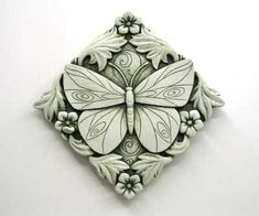 Acanthus Butterfly -- Carruth Studio: Waterville, OH