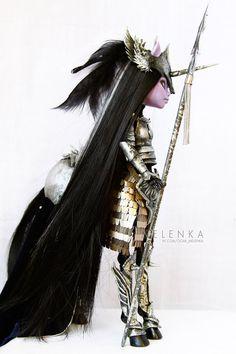 #ooak #melenka #mh #ooak #custom #doll #repaint #centaur #monster #high #avea…