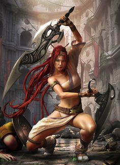 Nariko - Heavenly Sword <3 - First made for adults game I've actually finished! :) I was proud of myself