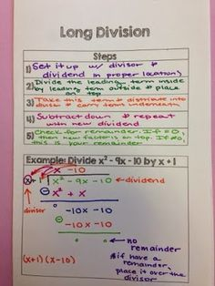 The Secondary Classroom can be fun too.....: Algebra 2