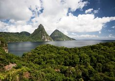 Pitons in St. Lucia, Caribbean https://www.stopsleepgo.com/vacation-rentals/saint-lucia