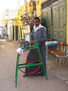 rémouleur Assouan Egypte