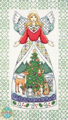 Design Works / Jim Shore - Winter Angel - Cross Stitch World