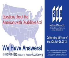 the challenges in the implementation of the americans with disabilities act The americans with disabilities act amendments act (adaaa) of 2008 the americans with disabilities act amendments act (adaaa) of 2008 was signed into law on september 25, 2008, and became.