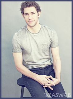 john krasinski. I am in love with Jim from the office ;) great character!