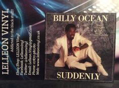 Billy Ocean Suddenly LP Album Vinyl Record HIP12 Soul Pop 80's Music:Records:Albums/ LPs:Pop:1980s