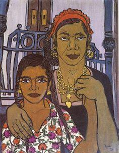 Painter Artist, Artist Painting, Figure Painting, Painting & Drawing, Old Egypt, Egypt Art, Arabian Art, Beauty In Art, African Artists