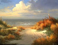 FineArtViews Painting Competition Entry, Quite Shores by George Kovach.