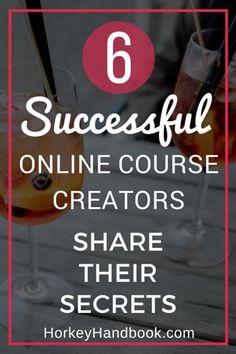 Successful Online Course Creators Share their Secrets