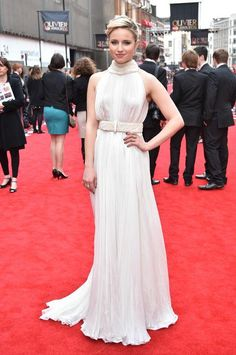 Dianna Agron at the Olivier Awards