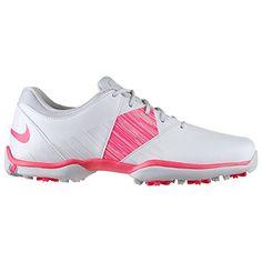 2bdb14d7f1a Nike Womens Delight V Golf Shoes Medium 95 M US WhiteHyper PinkPure  Platinum -- For