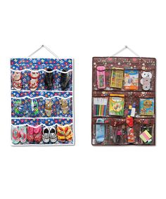 Another great find on #zulily! 12-Pocket Accessory Organizer - Set of Two by Bonita #zulilyfinds