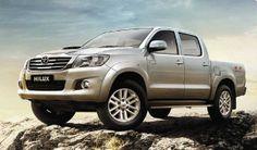 #Toyota Hilux - Nuevo #Diseño: Estribos laterales, luces traseras, espejos con luz de giro incorporada  www.jorgeferro.com
