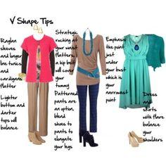 V shape tips