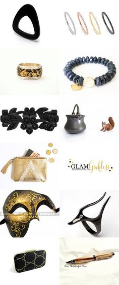 Golden black by shmulikbenshushan on Etsy--Pinned with TreasuryPin.com