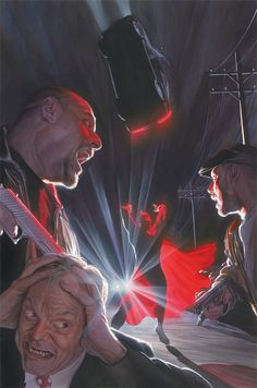 Action Comics #900 variant cover by Alex Ross
