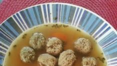 Slavnostní polévka s játrovými knedlíčkama