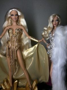 The Blonds Barbie Dolls Play Barbie, Barbie Life, Barbie World, Barbie Costume, Barbie Gowns, African American Dolls, Barbie Collection, Barbie Friends, Ethnic Fashion