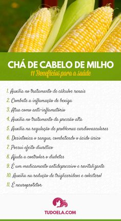 Conheça os benefícios do chá de cabelo de milho #saúde #bemestar #curapelanatureza #plantasmedicinais #ervasmedicinais #medicinaalternativa Health And Nutrition, Health Tips, Health And Wellness, Beauty Treats, Herbal Medicine, Ayurveda, Aloe Vera, Body Care, Natural Remedies