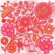 Folk Florals by Natalie Ryan, via Behance
