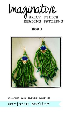 beaded peacock pattern | living with threemoonbabies: Imaginative Brick Stitch Beading Patterns