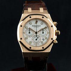 FS: Audemars Piguet 18k Rose Gold ROYAL OAK CHRONOGRAPH ~ MINT! - Rolex Forums - Rolex Watch Forum