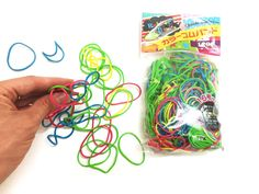 Rubber bands colored Great natural RUBBER BANDS COLORED, design your geobards to your heart content, durable, high quality and sized for small hands! Only at AlenaSani.com