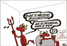 ¿Qué te han dicho en la ejecutiva? Que de #primarias nada de nada Forges #Humor