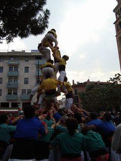 Castellers de Castelldefels. Trobada de Colles Castelleres del Baix Llobregat, 2010