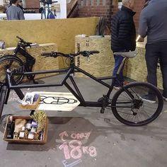 Schickes Lastenrad von VeloLab  #BFS #cargobike