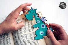 dragon bookmark...free printable...