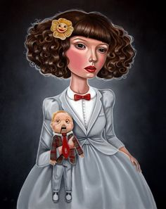 Lady Pee-Wee by Audrey Pongracz.