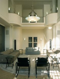 Le Corbusier's Villa Schwob, La Chaux-de-Fonds, Switzerland, 1916, refurbished by Andrée Putman in 1988