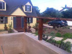Deck railing style
