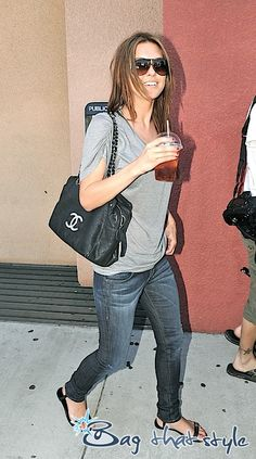 Audrina Patridge and her Chanel