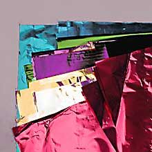 **** WHERE to buy heavy, coated, pearly, or metallic tissue paper, for garlands. Colored Mirriorized Metallic Film Sheets