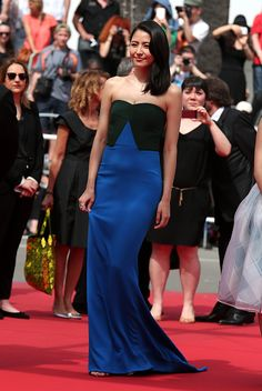 The best of the 2015 Cannes Film Festival red carpet: Masami Nagasawa.
