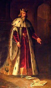 Pedro IV, King of Aragon (born acceded died painting by Manuel Aguirre y Monsalbe Plantagenet, Medieval Costume, Spain And Portugal, European History, Ancient Artifacts, Skull Art, Roman Empire, Middle Ages, Valencia