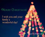 I wish you and your family