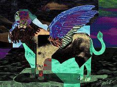 """SylokAir Art — """"Shedu"""" - 2, by Sylok. ==="""