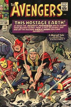 "Vol 1 12 Avengers ""A Marvel tale of most compelling excellence."" Art, Jack Kirby Auction your comics on .ukAvengers ""A Marvel tale of most compelling excellence."" Art, Jack Kirby Auction your comics on . The Avengers, Avengers Comics, Avengers Comic Books, Avengers Universe, Hulk Comic, Comic Book Artists, Comic Book Characters, Comic Book Heroes, Marvel Characters"